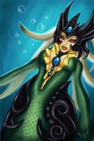 Nami League of Legends by Ninnydoodles