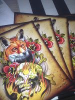 fox print forsale by WillemXSM