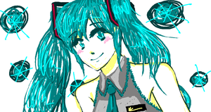 Miku Paint by bloominglove