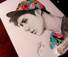 Lee Taemin by FlamingPencil