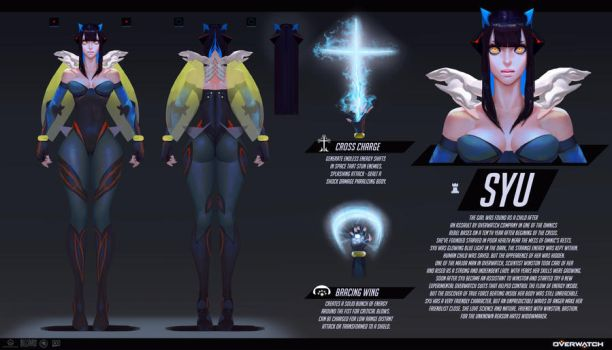 Overwatch concept art SYU by ShadowForever