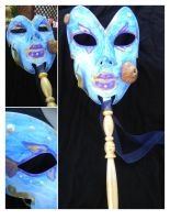 Sea Queen Masquerade Mask by DaleksinWonderland