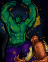 Hulk Up by nicollearl