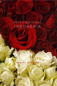 Happy bday dearest Indonesia by UNDakaCITHA