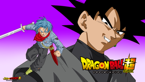Mirai Trunks y Goku Black Ecena Full by jaredsongohan