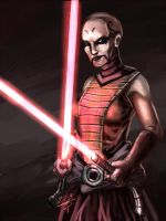 Asajj Ventress!! (Clone wars) by sempernow