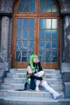 C.C Code Geass Cosplay by cloeth