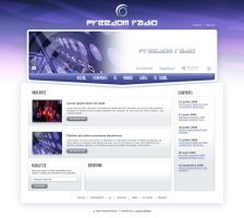 Freedom Radio web site by neverdying