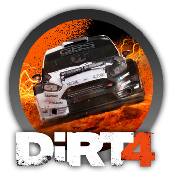 Dirt 4 - Icon by Blagoicons
