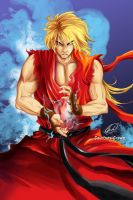Ken Masters by Courtney-Crowe