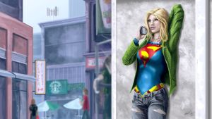 Supergirl by JaredT