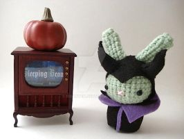 Maleficent Moon Bun by MoonYen