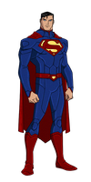 DC New 52:Superman Animated by kyomusha