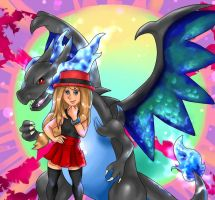 Collab: Mega Evolution by xBooxBooxBear