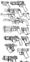 pistols by THE-LM7