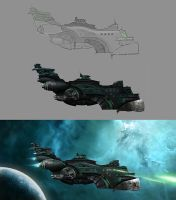 Antares   - Making of by Zenutron