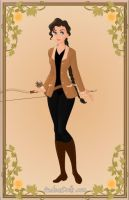 Katniss Everdeen: District 12 Outfit (Re-Do) by caitlinjane92