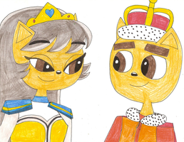 Request - Crowned King Cal and me as the princess by Magic-Kristina-KW