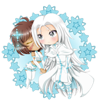 Chibi Czer and Mika by RankTrack45