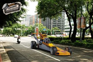 Dragster by gepecto