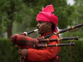 The Piper Plays by InayatShah