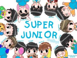super junior baby by chaBomb21