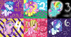 4th batch of baby ponies adoptables!CLOSED! by Points-adoptables-4U