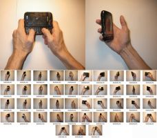 Male!Hands 3 Stock (Holding Cell Phone) by MostlyGuyStock