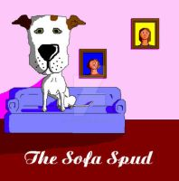 'The Sofa Spud' in MS Paint by Cecilia-Schmitt