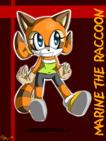 Marine the Raccoon by Carn-the-Wolf