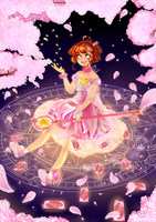 Our Cherryblossom - [Fanart/Card Captor Sakura] by aceaeite
