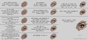 Eye tutorial (step by step ) by iBralui