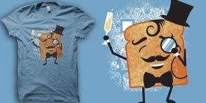 A Toast t-shirt by biotwist
