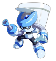 Toilet Man by ultimatemaverickx