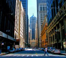 Chicago Board of Trade by wonenownlee