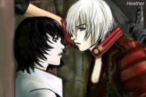 Dante and Lady by DarkHeather