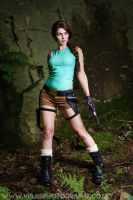 Nico as Lara Croft by VelesPhotos