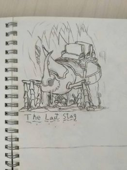 The last stag by Omer100