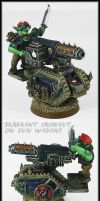 Sgt Irongut On Gunwagon (Harker) by Proiteus