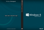 Windows 8 Release Preview Cover Art (w/o colors) by DerfBWH