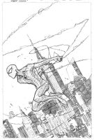 Spider-man pencils by JoeyVazquez