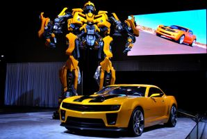 Bumblebee and Camaro. by LateRainyNights