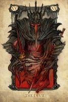 Tarot: The Devil by SceithAilm