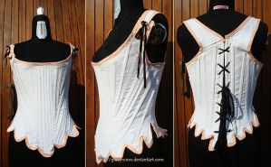 1700s Pair of Stays - corset by giusynuno
