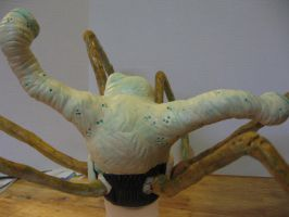 Spider-Head Thing Potatohead back View by Potatoheadmaster