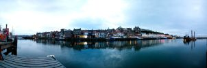 Whitby by Night by drunken-sniper