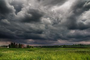 Spring time - dance with the storm by PatiMakowska