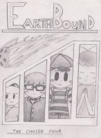 Earthbound Book Cover by SuperNess1000