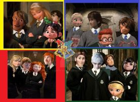 Hogwarts Non/Disney by Angeli98ca