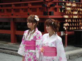 Japanese Ladies by Kaishi-Reed